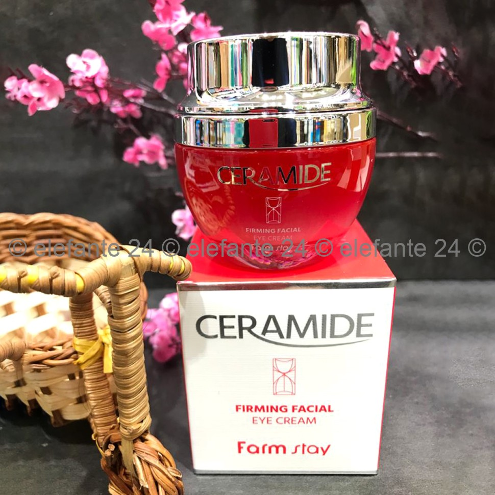 Крем с керамидами FarmStay Ceramide Firming Facial EYE Cream, 50 гр (78)